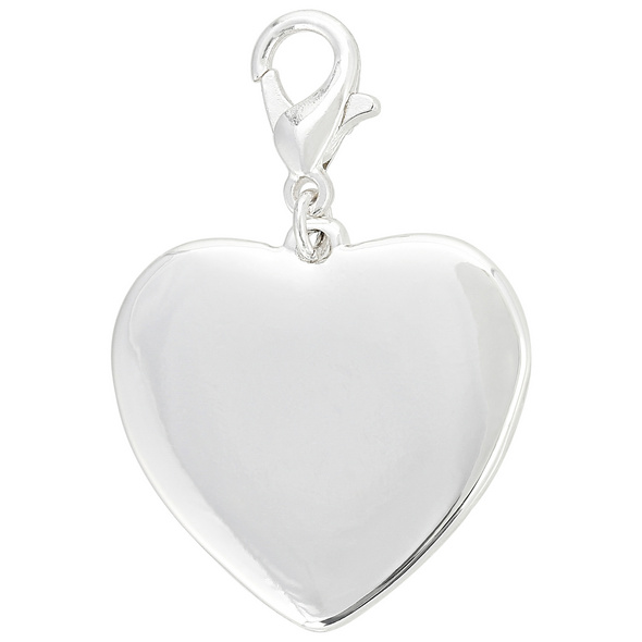 Charm Anhänger - Silver Heart
