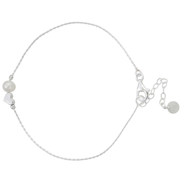 Armband mit Anhänger - Sweet Pearl