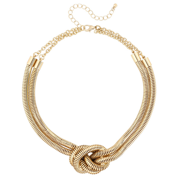 Kette - Golden Knot