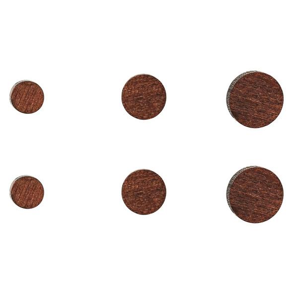 Ohrstecker - Wood Set