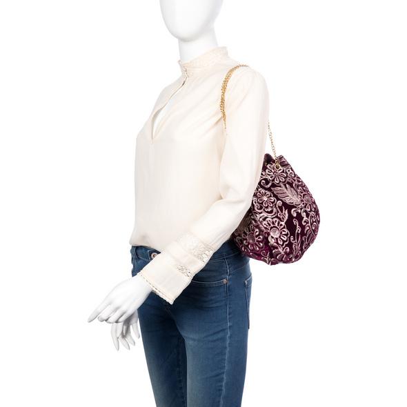 Handtasche - Velvet Flower