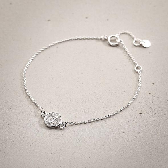 Armband - Silver J