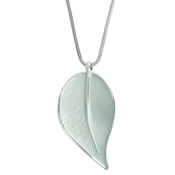 Kette -  Big Leaf Pendant