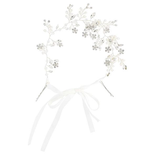 Haarnadel - Pearls & Crystals