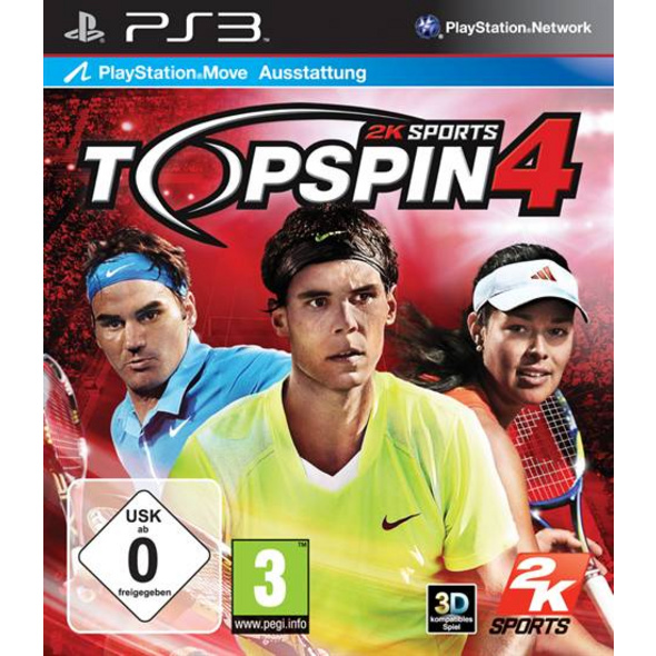 2K Sports Top Spin 4