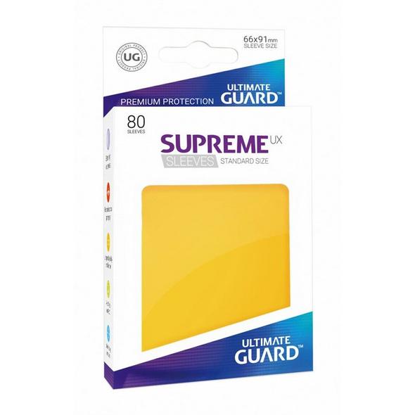 Ultimate Guard: Supreme UX Sleeves Standardgröße Gelb