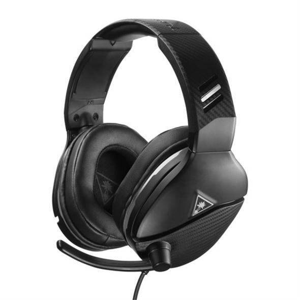 Turtle Beach Recon 200 Gaming-Headset mit Verstärker für PS4 und Xbox One - Schwarz