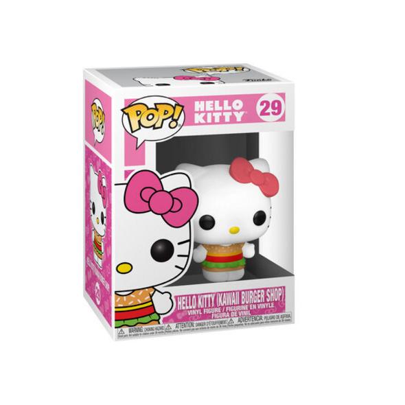 Hello Kittty - POP!- Vinyl Figur Burger Shop