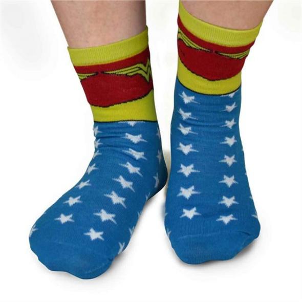 DC Comics -  Socken Wonder Woman (Größe 39-42)