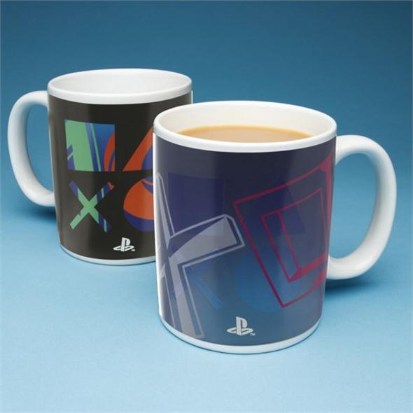 PlayStation - Tasse PlayStation Icons Thermoeffekt