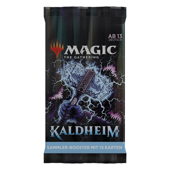 Magic the Gathering: Kaldheim Collector Booster Pack