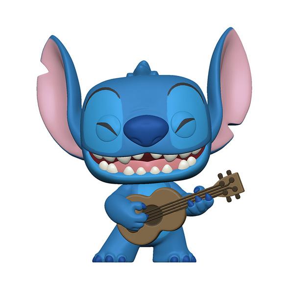 Disney Lilo & Stitch - POP!-Vinyl Figur Stitch mit Ukulele