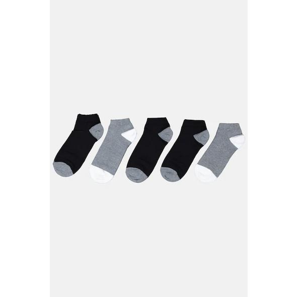 Sneakersocken, 5er-Pack