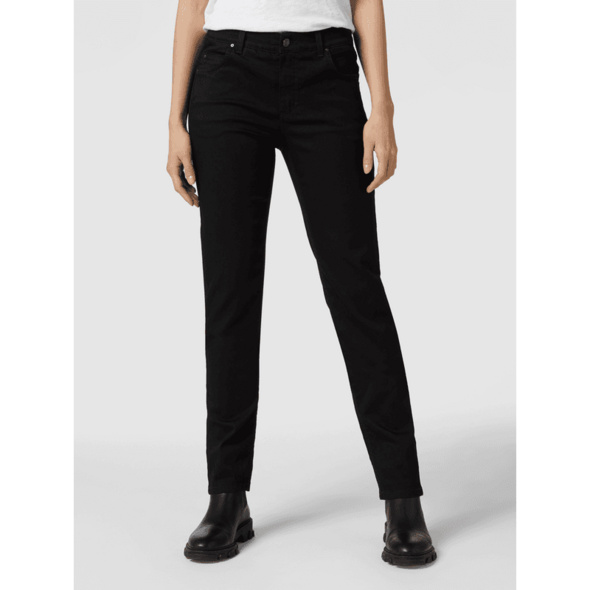 Slim Fit Jeans mit Label-Patch