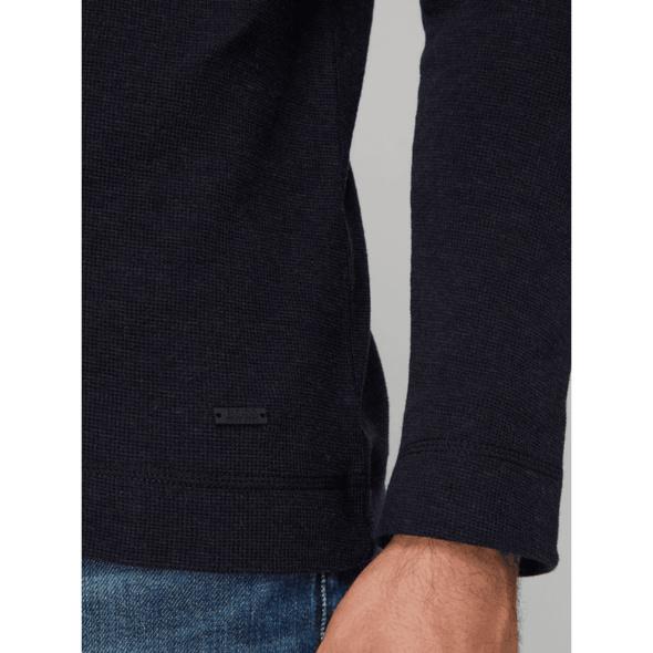 Pullover mit Waffelstruktur Modell 'Tempest'