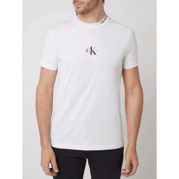 T-Shirt mit Logo-Prints
