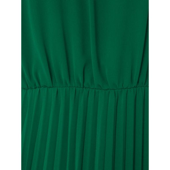 Abendkleid aus Chiffon mit Plisseefalten