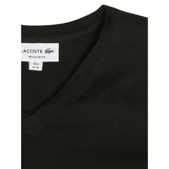 Regular Fit T-Shirt mit V-Ausschnitt