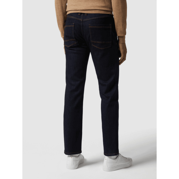 Rinsed Washed Regular Fit Jeans