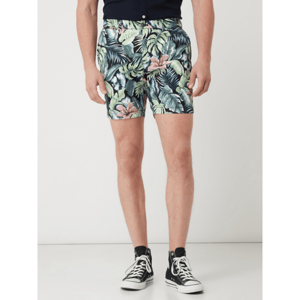 Chino-Shorts mit Stretch-Anteil