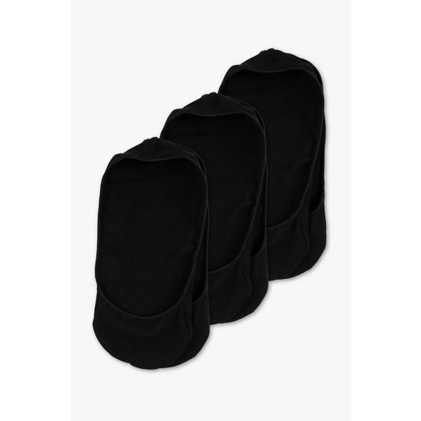 Multipack 3er - Basic-Füßlinge