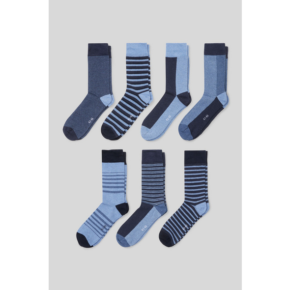 Socken - Bio-Baumwolle - 7 Paar