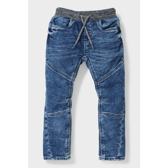 Curved Jeans - Bio-Baumwolle
