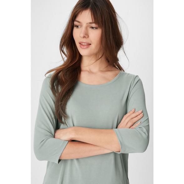 Basic-Langarmshirt - Tencel™