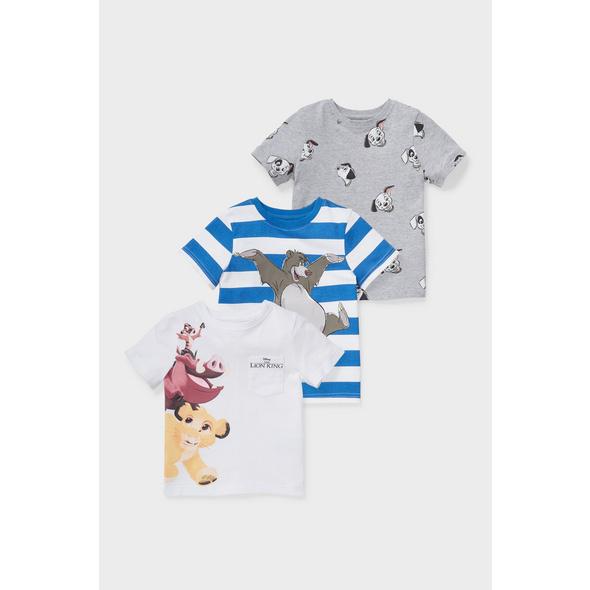 Multipack 3er - Disney - Kurzarmshirt - Bio-Baumwolle