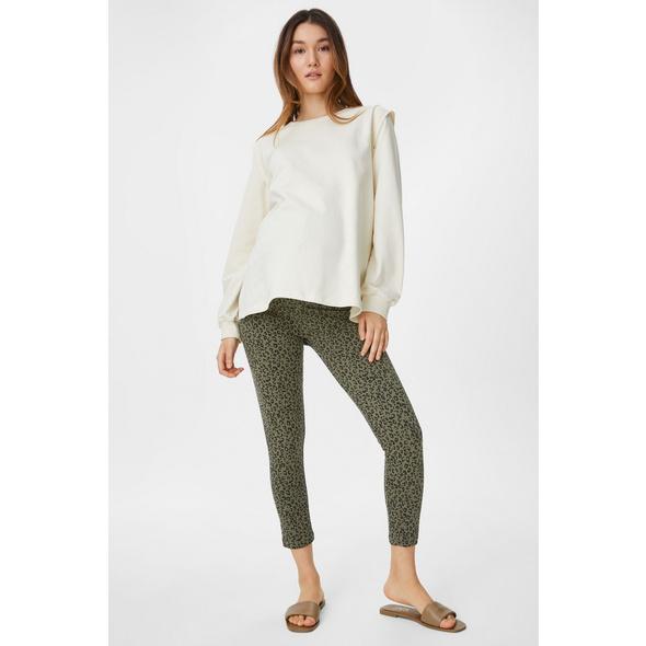 Umstand-Leggings - Bio-Baumwolle