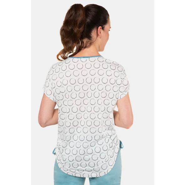 T-Shirt, Mustermix, Oversized, Saumbänder