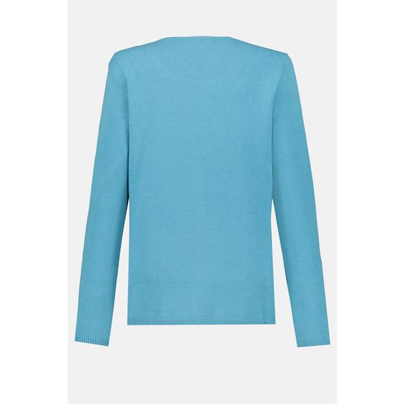 Pullover, Twin-Set Look, Langarm