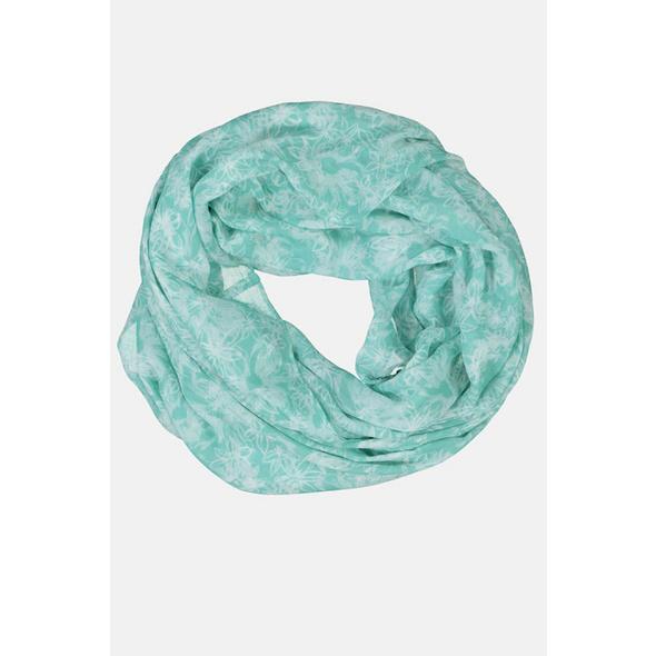 Gina Laura Loop, geblümt, recyceltes Polyester, luftig-leicht