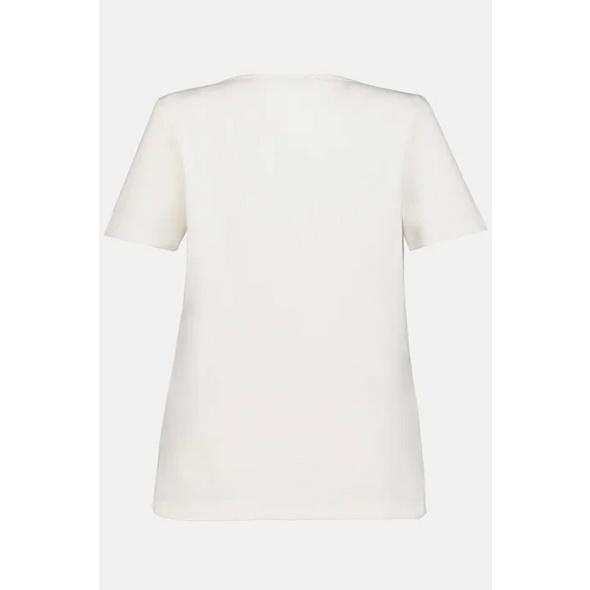 T-Shirt, Animal-Kreise, hinten länger