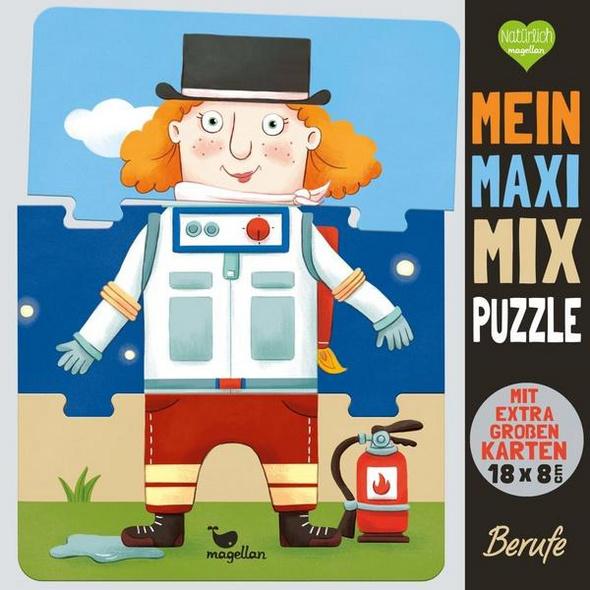 Mein Maxi-Mix-Puzzle - Berufe (Kinderpuzzle)