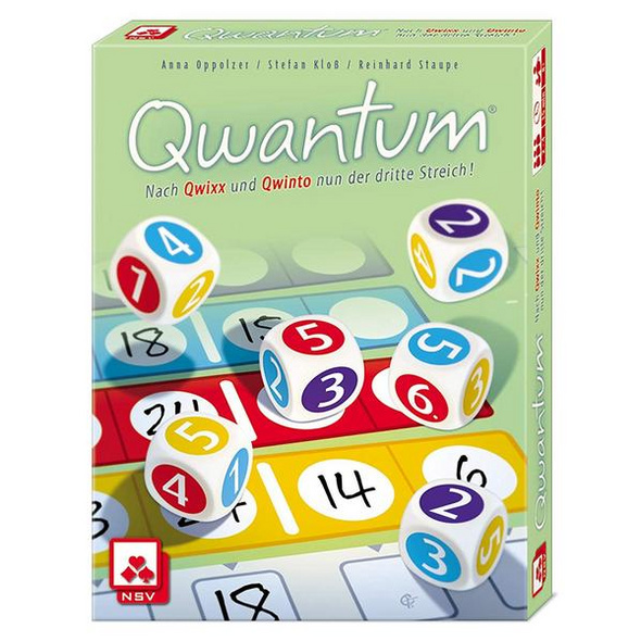 NSV 4076 - Quantum, Würfelspiel, Familienspiel