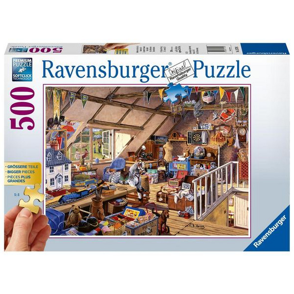 Großmutters Dachboden (Puzzle)