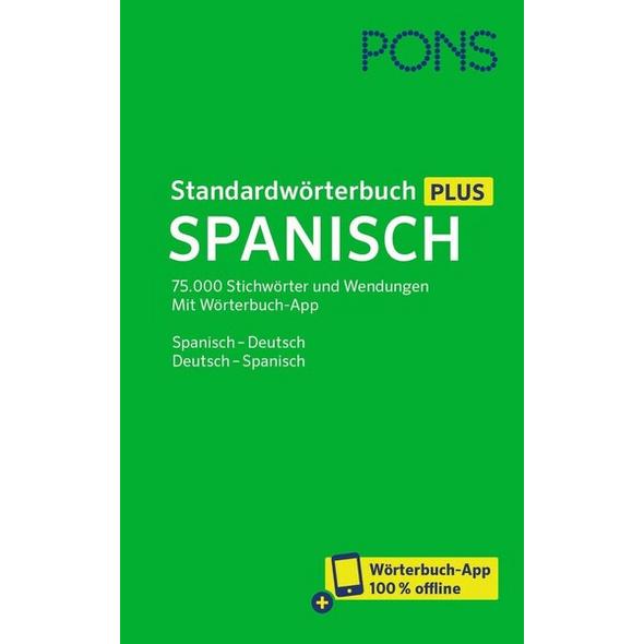 PONS Standardwörterbuch Plus Spanisch
