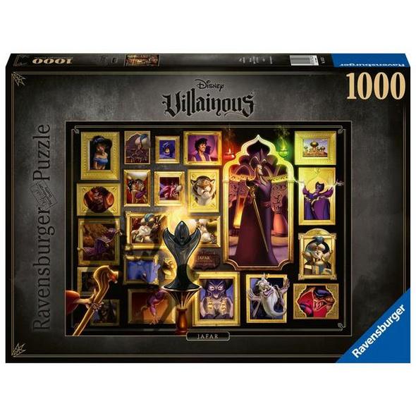 Ravensburger 15023 - Disney Villainous: Jafar, Puzzle,
