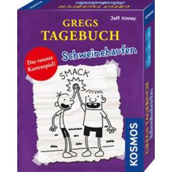 KOSMOS 741747 - Gregs Tagebuch, Schweinehaufen, Kartenspiel, Mitbringspiel