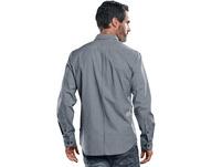 Langarmhemd im Vichykaro-Design.