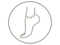 Fußkettchen - Fatima's Hand