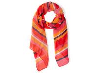 Schal, Streifen, luftig-leicht, Baumwolle