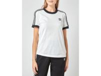 T-Shirt im zweifarbigen Design