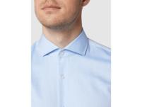 Slim Fit Business-Hemd aus Twill