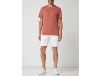 Chino-Shorts mit Gürtel