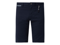 Regular Slim Fit Chino-Shorts mit Stretch-Anteil Modell 'Josh'
