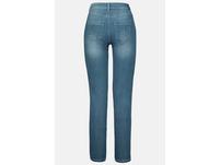Jeans Tina, gerade 5-Pocket-Form, Ziernähte