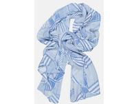 Schal, grafischer Mustermix, angenehm leicht