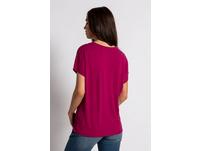 T-Shirt, V-Ausschnitt, Viskose-Jersey